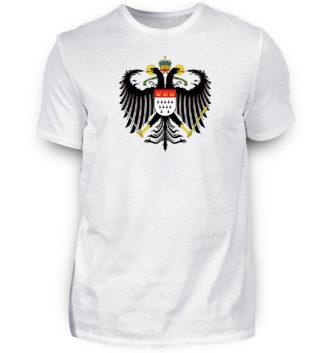 Herren T Shirts (Premium) mit kölschen Motiven • Kölner Farben