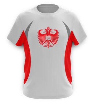 Herren Lauf & Sport Shirts mit kölschen Motiven • Kölner Farben